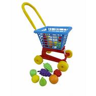 Тележка Supermarket №1 с набором продуктов Полесье (П42989), фото 1