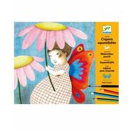 Раскраска-аппликация Djeco Художественная мастерская (08611), фото 1