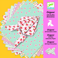Набор для творчества Djeco Оригами 100 листов (08770), фото 1