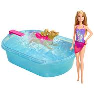 Игровой набор Barbie для купания щенков (DMC32), фото 1
