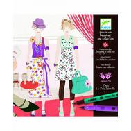 Раскраска Djeco Дизайнер одежды (08731), фото 1