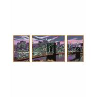 Раскраска по номерам Небоскребы Нью-Йорка Ravensburger (28951), фото 1
