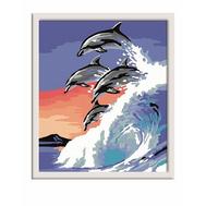 Раскраска по номерам Дельфины Ravensburger (28154), фото 1