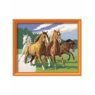 Раскраска по номерам Дикие лошади Ravensburger (28374), фото 1