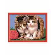 Раскраска по номерам Котята в корзине Ravensburger (28178), фото 1