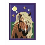 Раскраска по номерам Лошадь в лунном свете Ravensburger (27896), фото 1