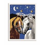 Раскраска по номерам Две лошадки Ravensburger (27970), фото 1