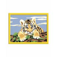 Раскраска по номерам Мордочка тигренка Ravensburger (27898), фото 1