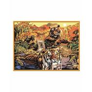 Раскраска по номерам Тигры Ravensburger (28805), фото 1