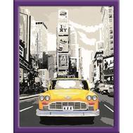 Раскраска по номерам Такси в Нью Йорке Ravensburger (28394), фото 1