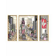 Раскраска по номерам Таймс-сквер Ravensburger (28966), фото 1