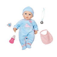 Кукла Baby Annabell многофункциональная в голубом, 43 см (794-654), фото 1