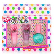 POP Игровой набор детской декоративной косметики для губ и ногтей (3605251), фото 1