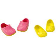 BABY born Ботиночки, 2 пары, зеленые балетки, розовые ботинки (822-159-2), фото 1