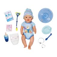 Интерактивная кукла Baby Born пупс-мальчик с аксессуарами 43 см (822-012), фото 1