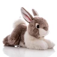 AURORA Игрушка мягкая Кролик серый 28 см, фото 1