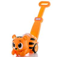 Игрушка развивающая каталка Тигр со световыми эф-ми, фото 1