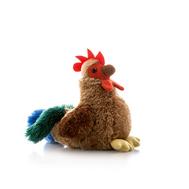 AURORA Игрушка мягкая Петушок пёстрый 15 см (10-316), фото 1