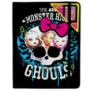 Monster High набор детской декоративной косметики в чехле для планшета, фото 1