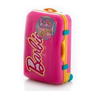 Barbie Игровой набор детской декоративной косметики в чемоданчике роз. (9600351), фото 1