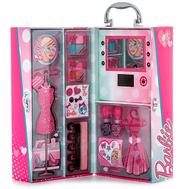 Barbie Игровой набор детской декоративной косметики в чемодане с подсветкой (9601051), фото 1