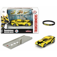 Машинка-трансформер Simba Dickieа Bumblebee с запуском + браслет (3112001), фото 1
