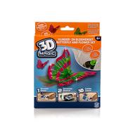 Тематический набор 3D Magic для создания объемных моделей - бабочка и цветок, фото 1