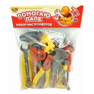 Набор инструментов Помогаю Папе 12 предметов в пакете (PT-00141/PT-00143(0733S-1), фото 1