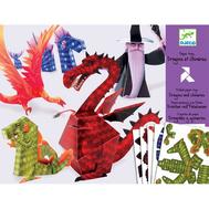 Набор для творчества Djeco Волшебная бумага Драконы (09673), фото 1
