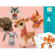Набор для творчества Djeco Волшебная бумага Животные (09674), фото 1