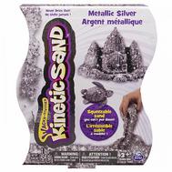 Песок для лепки металлик, Kinetic sand, 455гр, цвет серебряный (71408-0023-s), фото 1