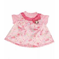 Платье для куклы Бэби Аннабель, розовые рукава (794-531-1), фото 1
