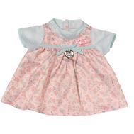 Платье для куклы Бэби Аннабель, голубые рукава (794-531-2), фото 1