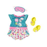 Одежда для куклы Baby born (Бэби Бон) Пижамка с обувью (822-470), фото 1