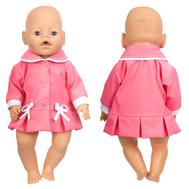 Куртка весенняя, розовая для куклы Беби Бон 38-43 см, фото 1