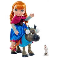 Игровой набор кукла Принцесса Холодное сердце Анна и Свен (902700), фото 1
