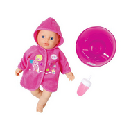 Кукла быстросохнущая с горшком и бутылочкой, 32 см, my little BABY born (823-460), фото 1