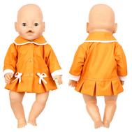 Куртка оранжевая для куклы Беби Бон 38-43 см., фото 1