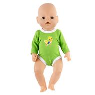 Боди зеленый для куклы Беби Бон 38-43 см, фото 1