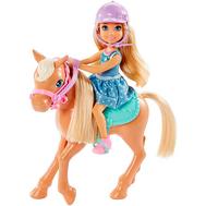 Barbie® Кукла Челси и пони (DYL42), фото 1