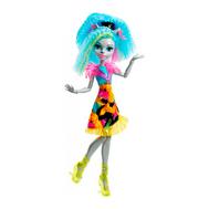 """Monster High® Неоновые монстряшки из серии """"Под напряжением"""" Сильви Тимбервулья (DVH66), фото 1"""