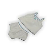 """Набор одежды голубой """"Майка и трусики"""" для куклы Беби Бон 38-43 см, фото 1"""