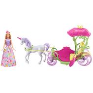 Barbie® Конфетная карета и кукла (DYX31), фото 1