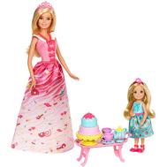 Игрушка Barbie® Игровой набор «Чаепитие в Сладкограде» (FDJ19), фото 1