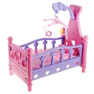 Кроватка для куклы Беби Бон, с мобилем  (411984), фото 1