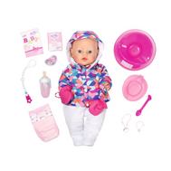 Кукла Baby born Интерактивная Зимняя пора, 43 см (825-273), фото 1