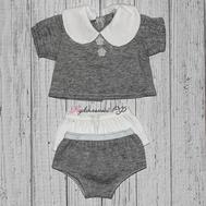 """Набор одежды серый """"Кофта, двое трусов"""" для куклы Беби Бон 38-43 см, фото 1"""