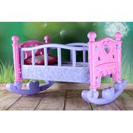 Кроватка качалка для куклы Литл Беби Бон до 38 см, фото 1