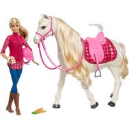 Игрушка Barbie Кукла и лошадь мечты (FRV36), фото 1