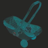 Baby Annabell Сиденье-переноска (700-709), фото 1
